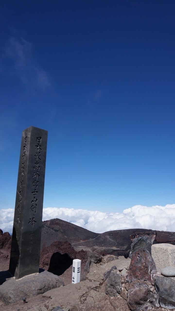富士登山 富士山 剣ケ峰 登りたい山を決める